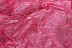 Red tissue paper background Royalty Free Stock Photos