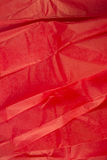 Red Tissue paper Royalty Free Stock Images