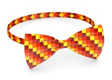 Red to yellow bowtie Stock Images