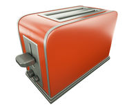 Red toaster Royalty Free Stock Photo