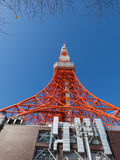 Red Tokyo Tower Stock Images