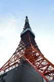 The red Tokyo Tower, Japan Royalty Free Stock Images