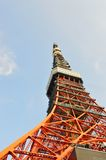 The red Tokyo Tower, Japan Stock Image