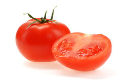 Red tomato Stock Photography