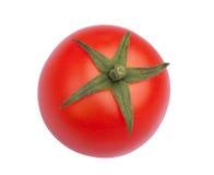 Red tomato. Red fresh tomato isolated on white background Royalty Free Stock Photo