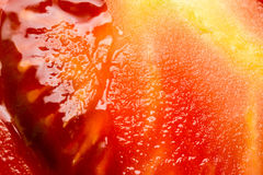 Red Tomato Cut Royalty Free Stock Photography