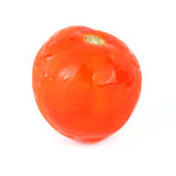 Red tomato with drops Stock Image