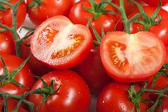 Red tomato food Royalty Free Stock Images