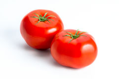 Red tomato isolated Stock Photo