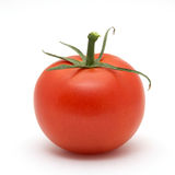 Red Tomato isolated on white. Background Royalty Free Stock Photography