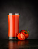 Red Tomato Juice Drink Stock Photography