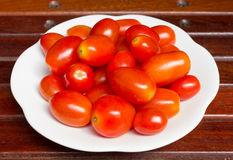 Red tomato is the Lycopene source which good for health Royalty Free Stock Photography