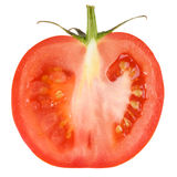 Red tomato slice . Stock Photos