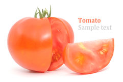 Red tomato Stock Photo