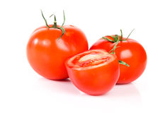 Red tomato vegetable Stock Images