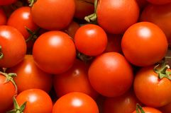 Red tomatoes. Can be used as background Royalty Free Stock Photos