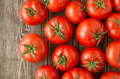 Red tomatoes background Royalty Free Stock Photos