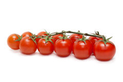 Red tomatoes cherry five Stock Photo