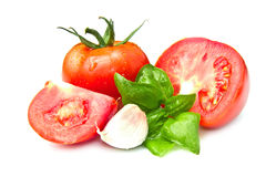 Red tomatoes isolated Royalty Free Stock Photo