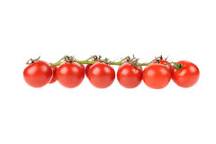 Red tomatoes isolated on the white background Royalty Free Stock Photos