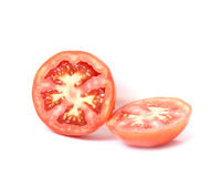 Red tomatoes ripe natural Royalty Free Stock Photo