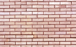 Red toned brick wall texture Stock Image