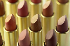 Lipstick Colors Royalty Free Stock Image