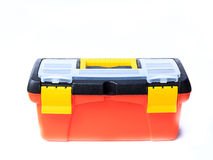 Red tool box Royalty Free Stock Photos