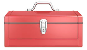 Red Toolbox. Royalty Free Stock Images