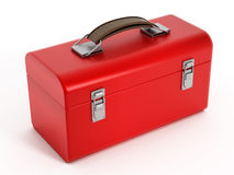 Red toolbox Royalty Free Stock Photos