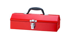 Red toolbox. Royalty Free Stock Image