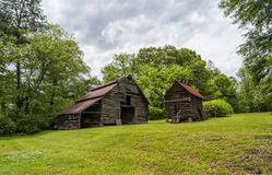 Red top Barn Royalty Free Stock Images