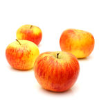 Red topaz apples Royalty Free Stock Image