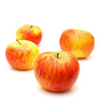 Red topaz apples Royalty Free Stock Photo