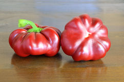 Red  Topepo Rosso peppers Royalty Free Stock Image
