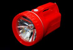Red Torch Light Royalty Free Stock Photo