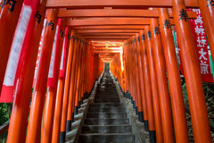 Red Torii Gate Stock Photography