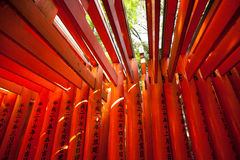 Red Torii Stock Images