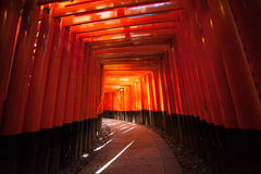 Red Torii Royalty Free Stock Photo