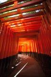 Red Torii Stock Photo