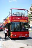 Red Tour Bus, Benalmadena. Stock Image