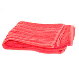 Red towel Stock Image