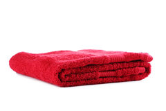 Red towel Royalty Free Stock Photo