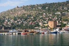 Free Red Tower (Kizilkule) In Alanya, Turkey Stock Photos - 57832563
