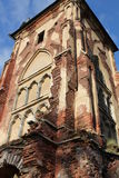The Red Tower in Pushkin Royalty Free Stock Images