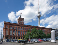 Red Town Hall in Berlin Stock Photos