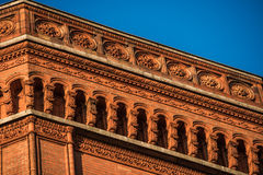 Red town hall in Berlin Stock Photo