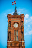Red town hall in Berlin Royalty Free Stock Photo