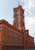 The Red Town Hall (German: Rotes Rathaus) - Berlin Royalty Free Stock Photography