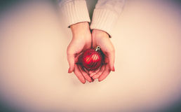 Red toy ball Royalty Free Stock Photo